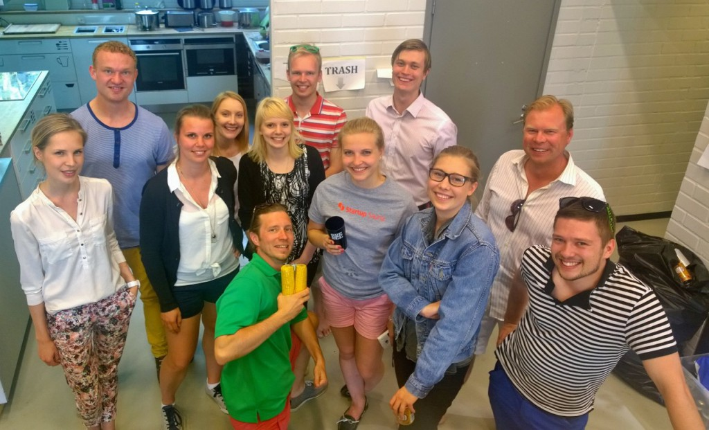 Aalto Fellows with AVP staff