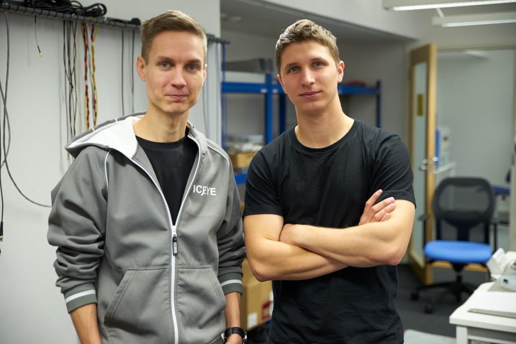 Pekka Laurila and Rafal Modrzewski