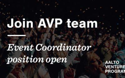 AVP is looking for Event Coordinator