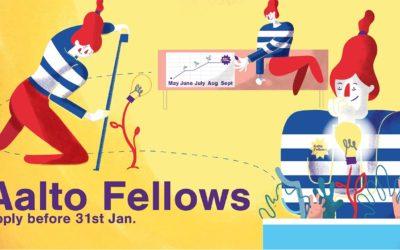 Apply for Aalto Fellows 2018!