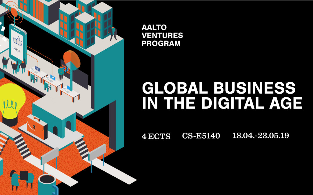 Register now for Global Business in the Digital Age!