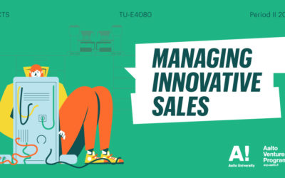Register now for Managing Innovative Sales!