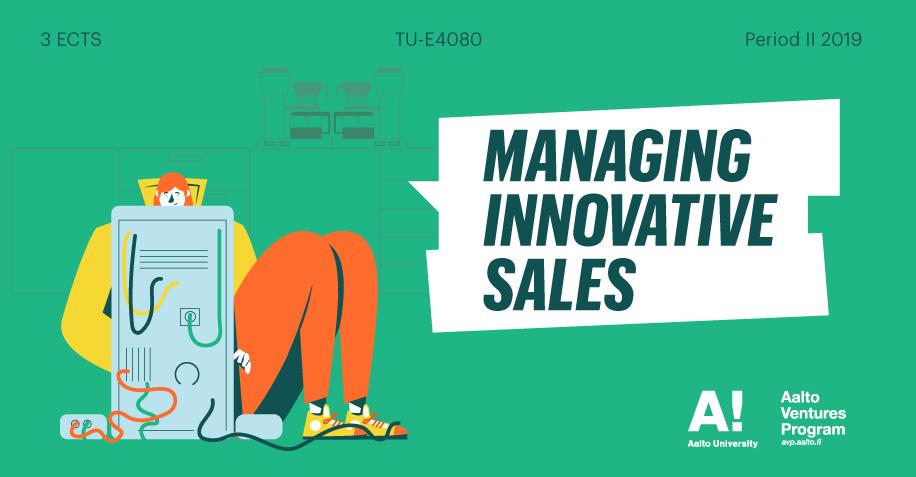 Register now for Managing Innovative Sales!