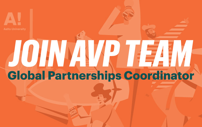 AVP is looking for Global Partnerships Coordinator